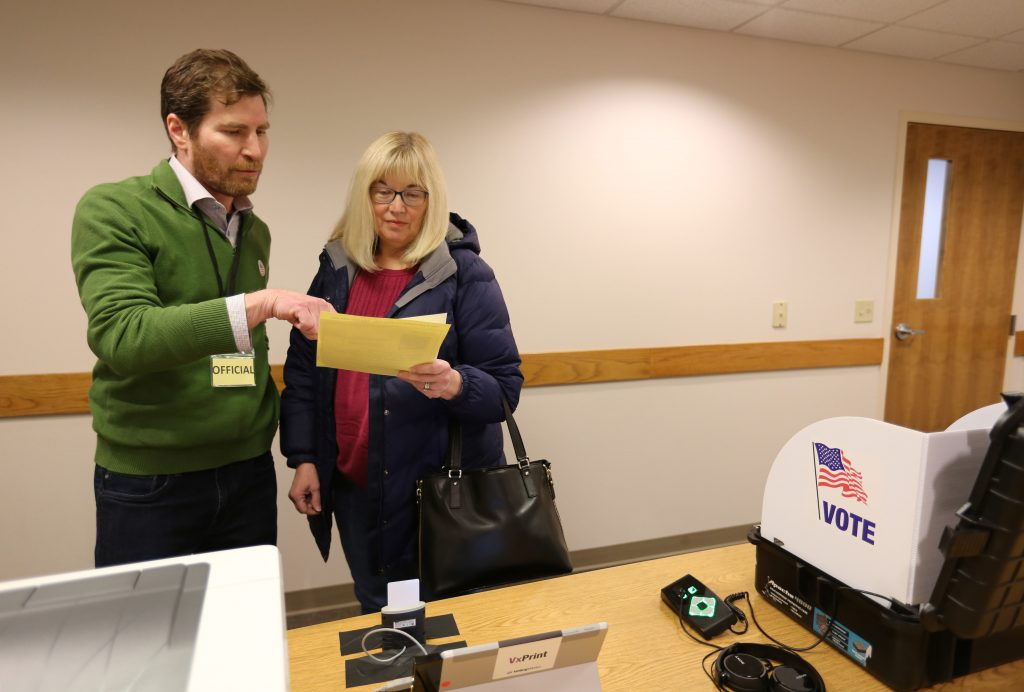 Microsoft ElectionGuard software gets first test in Fulton, Wisconsin