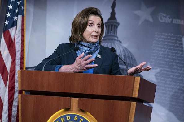 Universal basic income could be worthy of attention, Pelosi says