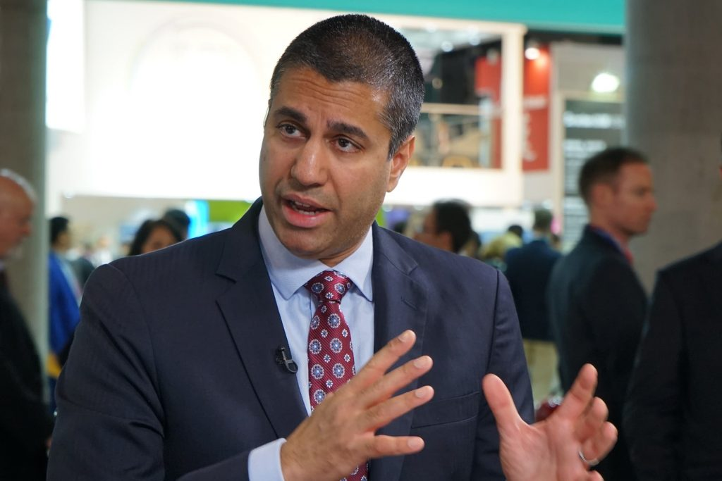 FCC Chairman Ajit Pai will step down on January 20