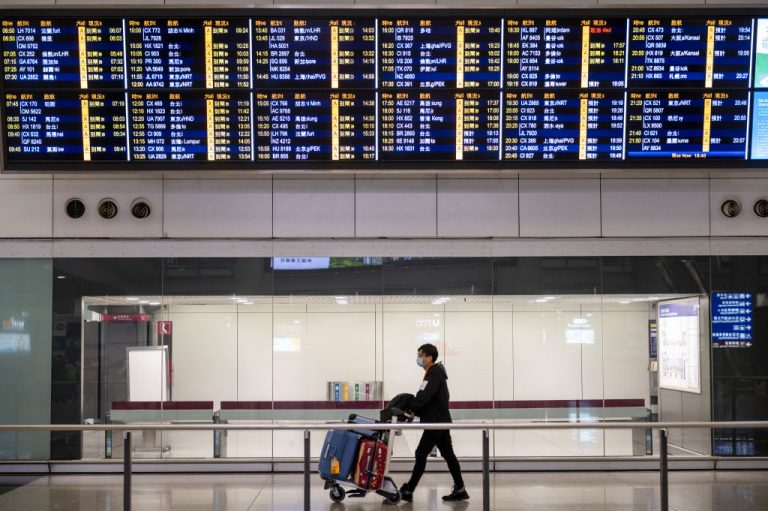 Hong Kong looks to mainland China for next air travel bubble