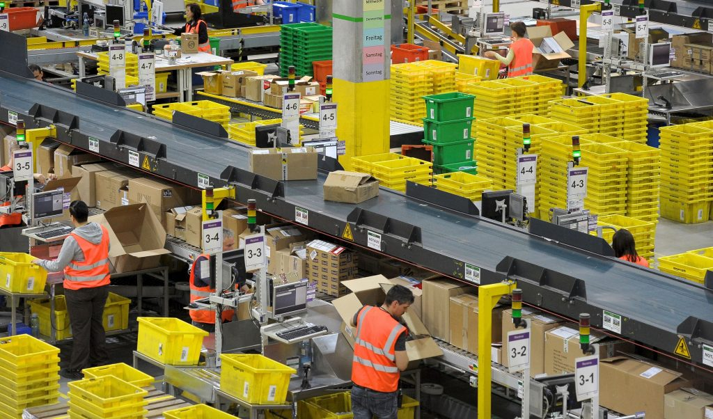 Amazon encourages California workers to get weekly Covid tests
