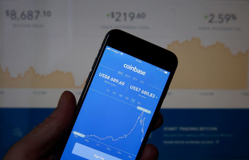 Largest U.S. cryptocurrency exchange Coinbase files for IPO as bitcoin soars past $23,000