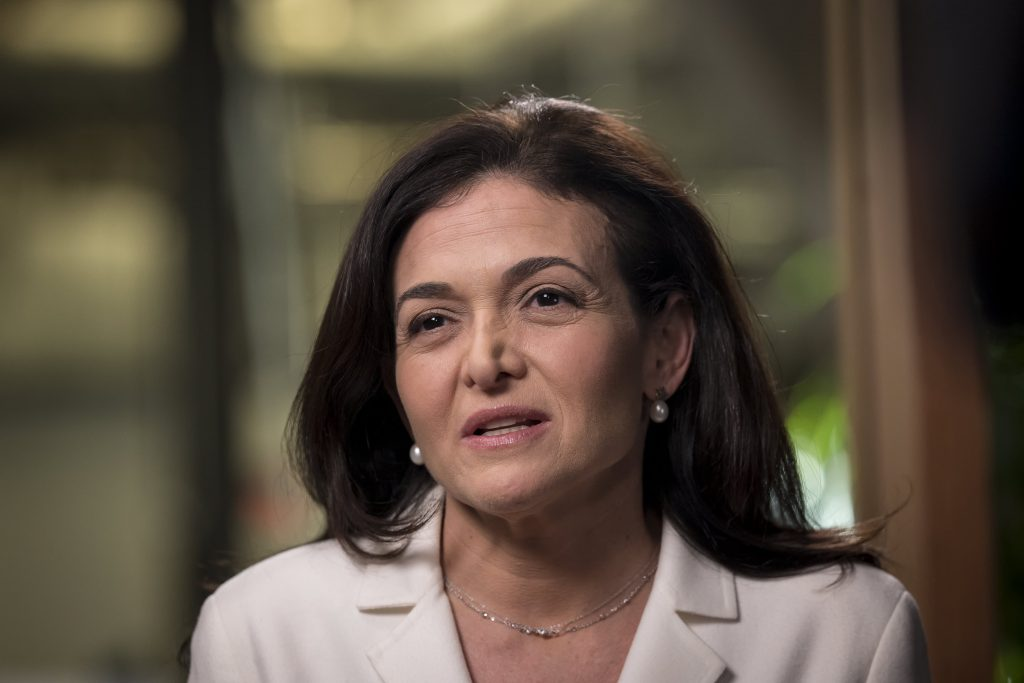 Facebook's Sandberg says government shouldn't approve mergers and revoke them