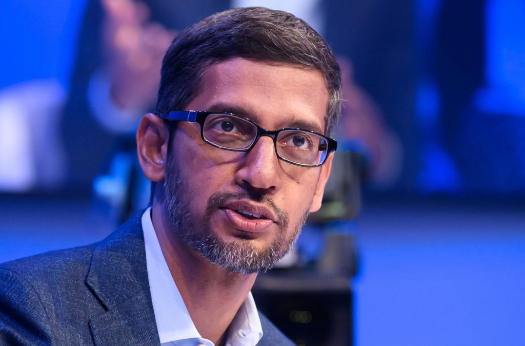 Perfect storm for Alphabet CEO Sundar Pichai