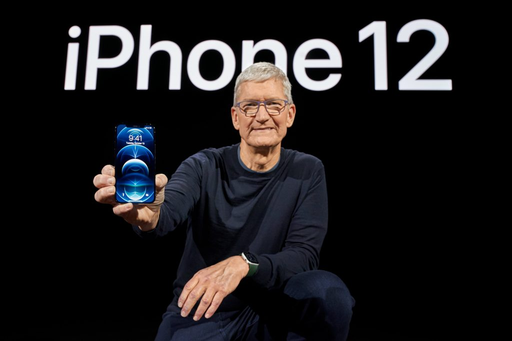 Apple stock up on report it'll boost iPhone production 30% in 2021