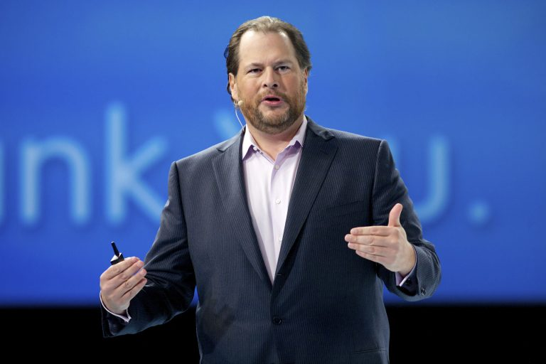 Salesforce buys Slack for $27.7 billion in cloud company's largest deal