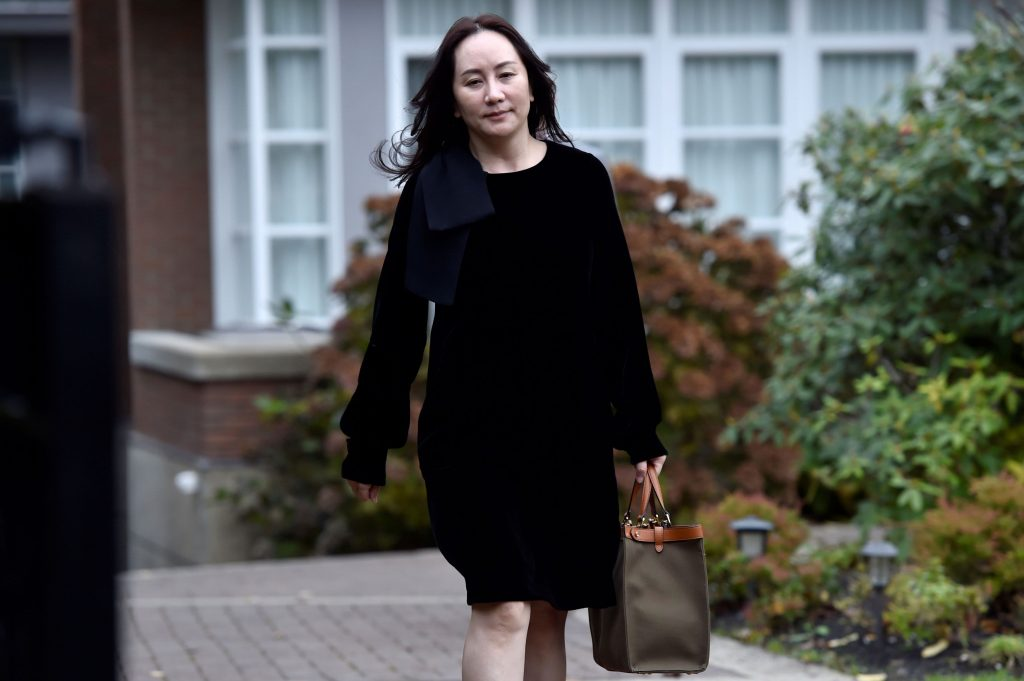 U.S. in talks with Huawei CFO on deal to resolve criminal charges: WSJ