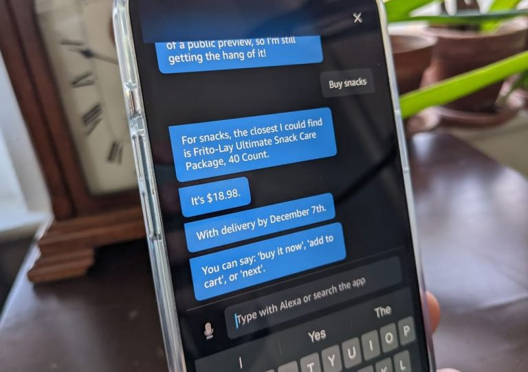 How to text Amazon Alexa from your iPhone