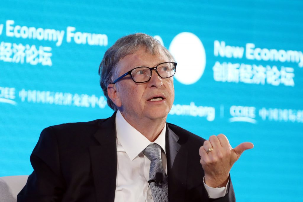 Bill Gates says US needs a federal agency to fight climate change