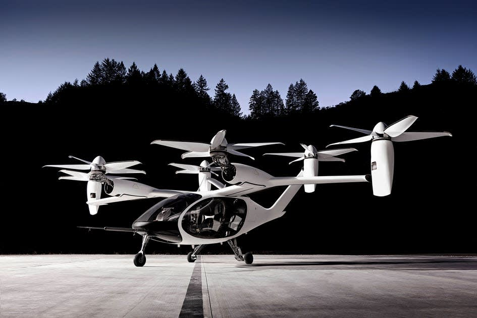 Uber sells its flying taxi business