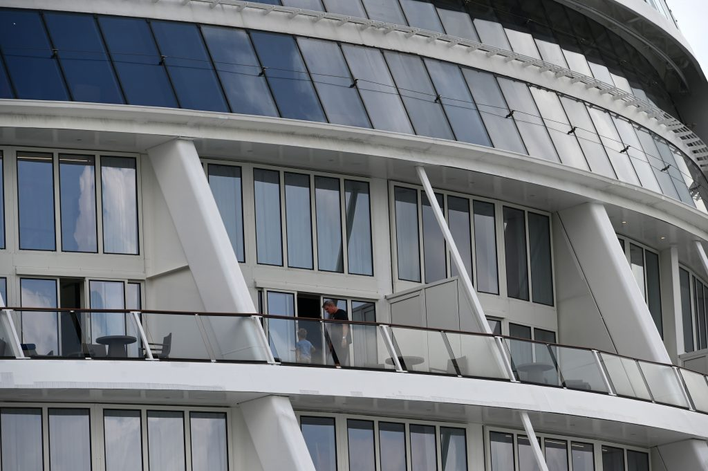 A Covid-19 infection is found on a Singapore 'cruise to nowhere'