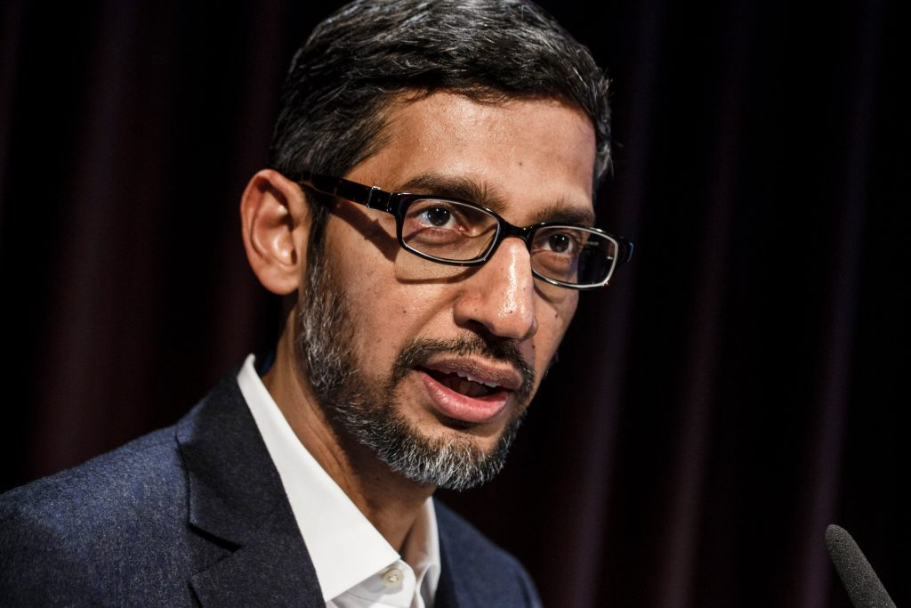 Google CEO strongly condemns violence and lawlessness in D.C.