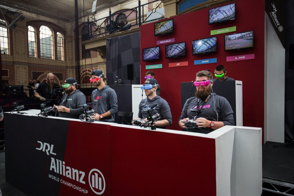 DraftKings and Drone Racing League partnership lets you bet on drone races