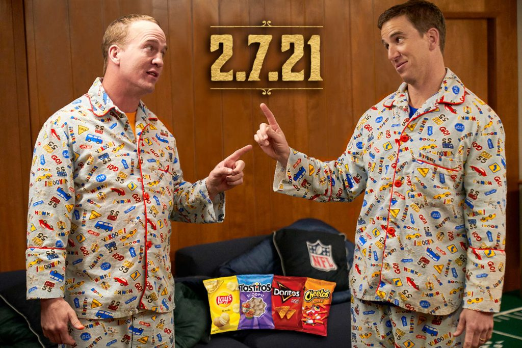 Frito-Lay Super Bowl ads to highlight new products, Manning brothers