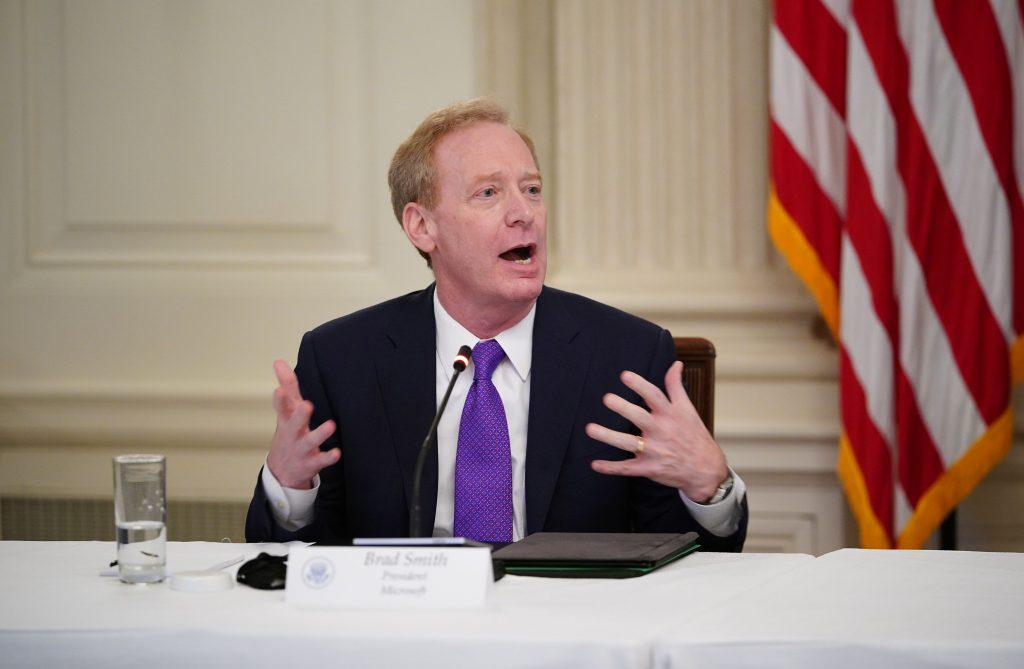 Microsoft president Brad Smith defends MSPAC to employees