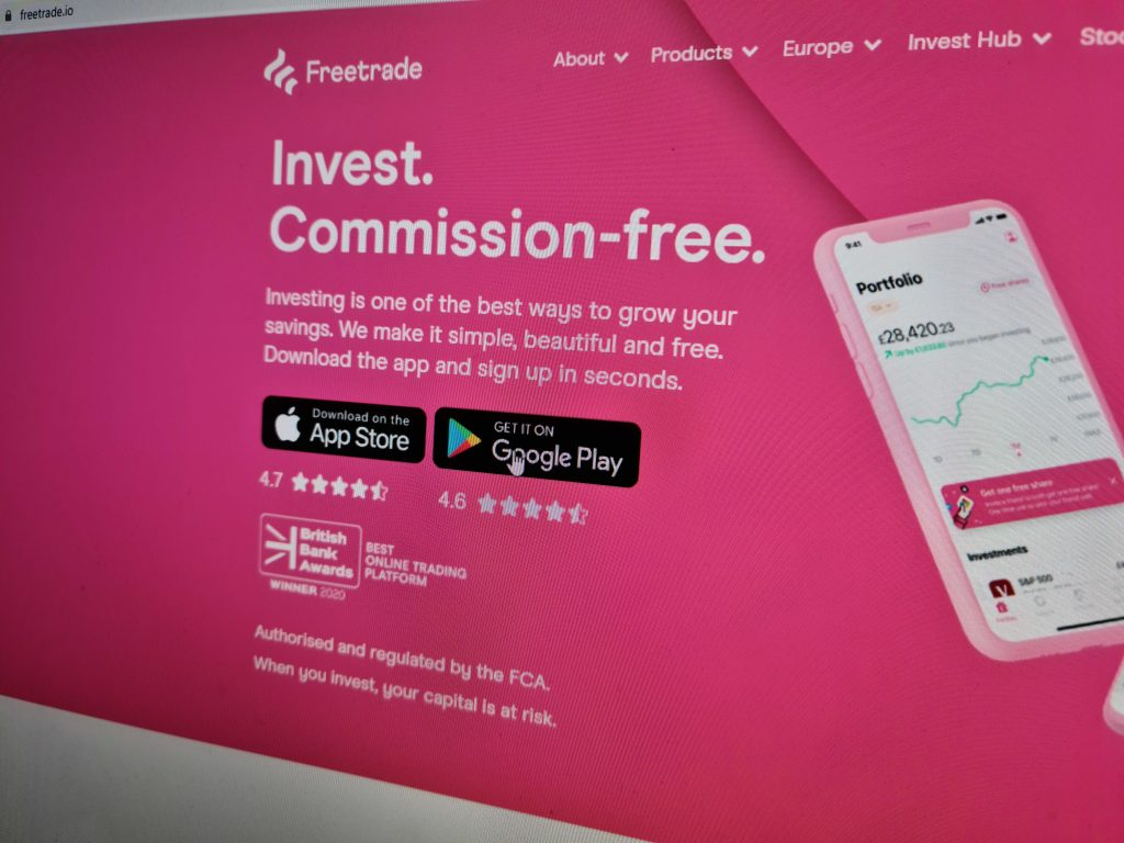 UK trading app Freetrade halts purchases of US stocks