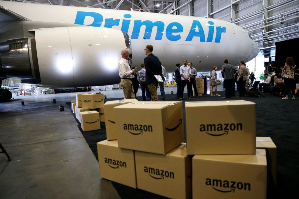 Amazon Air fleet growing fast, could resemble airline: Study