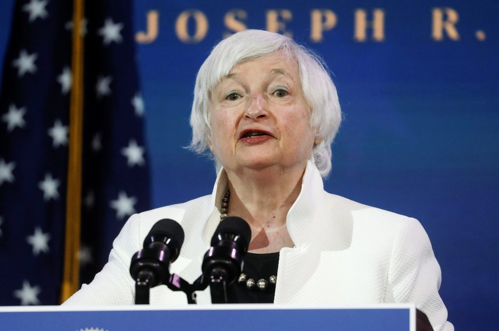 Yellen sounds warning about 'extremely inefficient' bitcoin