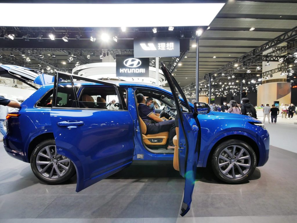 Chinese electric car start-up Li Auto expects to sell fewer than Nio
