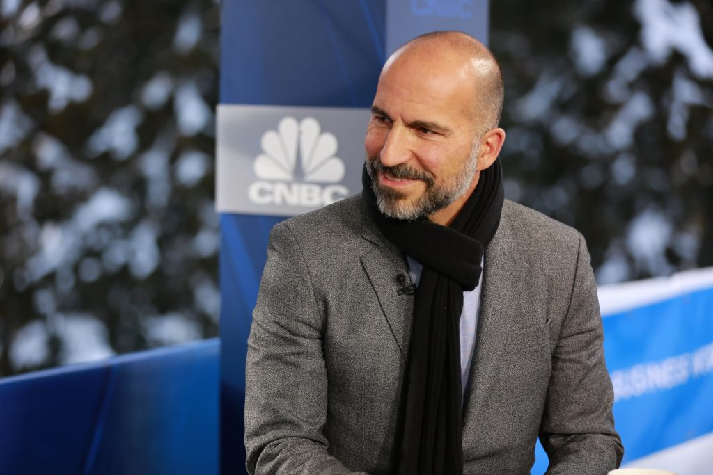 Uber CEO says company could get into cannabis delivery