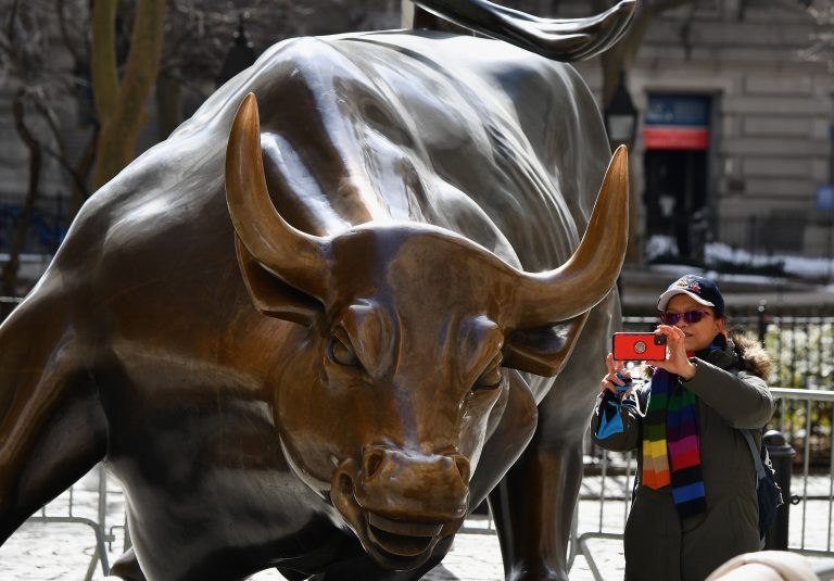 Stock futures are flat in overnight trading after the Dow and S&P 500 close at records