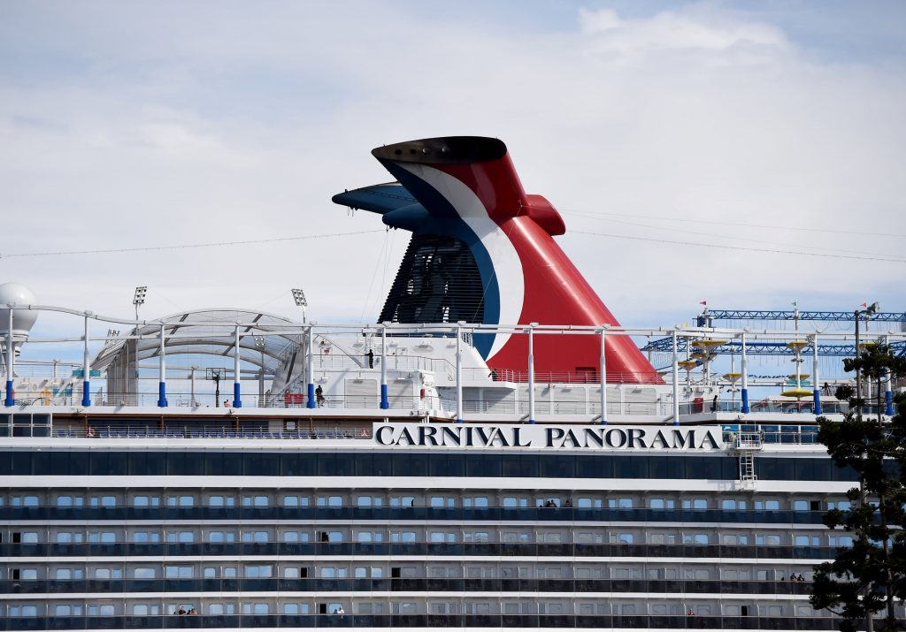 Carnival says bookings are rising at record pace, watching US rules closely